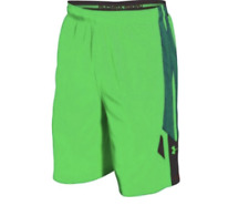 Under Armour Men's Green Athletic Apparel Basketball Shorts Sz L 1402