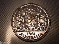 Australia.  1961 Florin - Proof.. Mintage - 1506