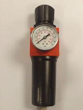 Air Filter Regulator Unit Metalwork 1425030 1/2 Bsp 20 Micron Filter with Gauge