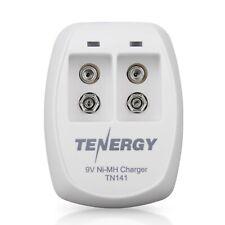 Tenergy TN141 Smart Charger for NiMH 9V Rechargeable Batteries, 9V Cells Batt...