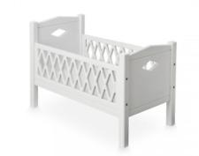 Harlequin Childrens Kids Girls Dolls Doll Bed Cot White Bedroom Furniture New