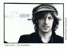 "Mike Scott (The Waterboys) UK  Original  Promo Photo 10"" x 8"""