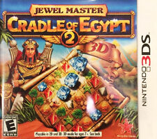 Jewel Master: Cradle of Egypt 2 3D (Nintendo 3DS, 2013) - BRAND NEW