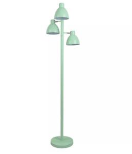"Mint Green Colored Three Head Task Metal Standing Floor Lamp by Pillowfort 61"" H"