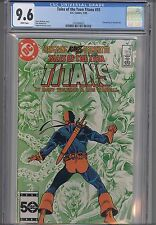 Tales of the Teen TItans #55 CGC 9.6 DC 1985 Deathstroke Cover:  NEW FRAME