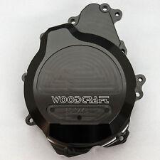 Woodcraft Yamaha R6 '03-05/R6S LHS Stator Cover Black W/Gasket  - 60-0445LB