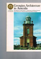 Georgian Architecture in Australia - Max Dupain - Morton Herman