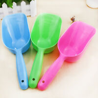 Cute pet dog cat bird rabbit food feeder bowl scoop shovel tool random color SK