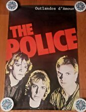 The Police 1979 Album Outlandos d'amour Vntg Originl Poster Sp 4753, Rare