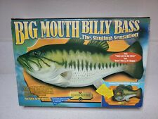 Vintage Big Mouth Billy Bass Motion-Activated Singing Fish 1998 New In Box