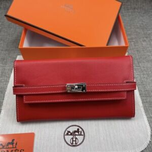hermes kelly wallet AUTENTHIC 100% NEW WITH BOX