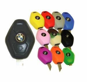 BMW Keyless Entry Key Fob Remote Rubber Cover 3 5 7 Series Z3 Z4 X5 Jacket Skinz