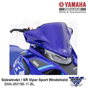 Yamaha Sidewinder SR Viper Low Sport Windshield Blue SMA-8MY96-11-BL