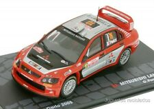1/43 MITSUBISHI LANCER WRC PANIZZI RALLY MONTECARLO 2005 IXO EAGLEMOSS DIECAST