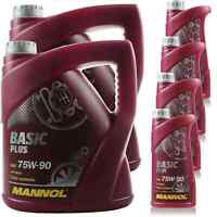 12 Liter Original MANNOL Getriebeöl Basic Plus 75W-90 API GL 4+ Oil 11192399