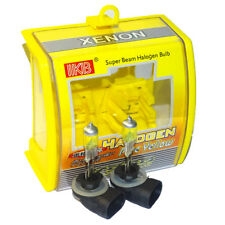 2x 881 H27 12V 100W 3000K Xenon Super Yellow Car Headlight Bulb Fog Lamp Bulbs