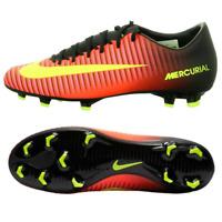 Nike Mercurial Victory VI FG Herren Fußballschuhe Schwarz Rot Naturrasen NEU OVP