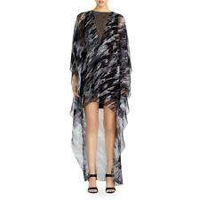 Halston Heritage Womens Black Embellished Hi-Low Caftan Dress XS BHFO 5593