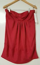Brand New With Tags cooper st Myer Pink Red Rose Dress Tied Up Frock Size 14