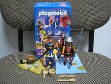 Playmobil - Medieval - Soldado Dragon Rojo Principe Preso - 3328 -(COMPLETO) OVP