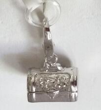 Italy Designer Giorgio Martello 925 Sterling Silver Treasure Chest  Charm