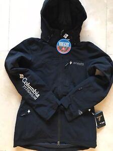 US Ski Team Olympic Mogul Team Columbia Omniheat Jacket Women Sz XS Team Issue