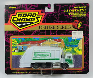 """Road Champs Deluxe Recycle America Garbage Truck 5"""" Diecast Scale Model"""