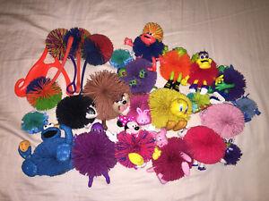 Lot of Koosh Balls Slingshot Bugs Life Minnie Looney Tunes Cookie Monster+++