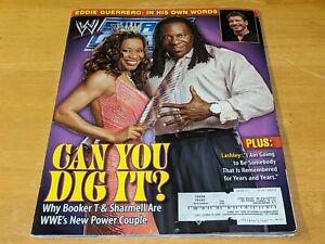 KING BOOKER T & SHARMELL WWE Smackdown MAGAZINE Wrestling January 2006 Issue