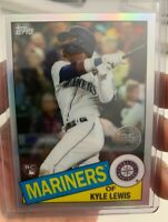 2020 Topps Chrome KYLE LEWIS 35th Anniversary Refractor RC #85TC-22 Mariners