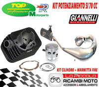 PIAGGIO SI 50 - KIT CILINDRO MODIFICA 70CC DR 43 SP.10 + MARMITTA GIANNELLI FIRE