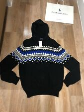 BNWT RALPH LAUREN Hooded Jumper Cashmere Blend Sweater Size S RRP £ 255