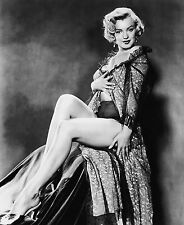 MARILYN MONROE 8X10 CELEBRITY PHOTO PICTURE HOT LEGS IN TEDDY