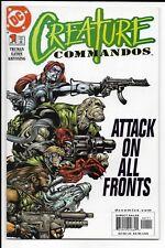 Creature Commandos #'s 1-8 / Complete Run / 2000