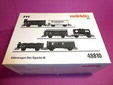 *MÄRKLIN H0 48810 DB Güterwagen-Set
