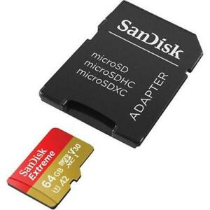 Genuine SanDisk Micro SD Memory Card Adaptor Adapter Converter To Standard SD