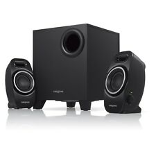 2 1 Channel Home Theater Speaker Sound System Stereo Audio Tv Subwoofer Computer