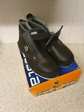 Robusta ROBLE Safety Boots Work Shoes Steel Toes Size UK 12 / EU 46 Black NEW