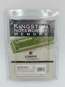 NEW Kingston 16MB Toshiba Laptop Memory KTT-610/16 16 Meg Module Vintage