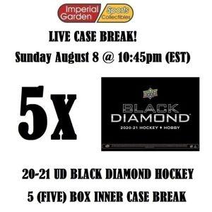 2020-21 BLACK DIAMOND 5 BOX CASE BREAK #2649 - Winnipeg Jets
