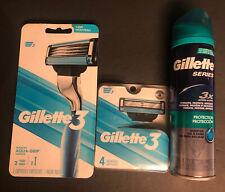 Gillette 3 Bundle