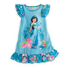Girls Kids Nightie Nightdress Disney Dress Character Children Pyjamas 2-13 Years