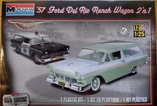Mongram '57 Ford Del Rio Ranch Wagon 2'n1 1/25 Scale Plastic Model Kit 85-4193