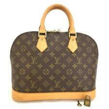 100% Authentic Louis Vuitton Monogram Alma Tote Hand Bag Purse /dd736