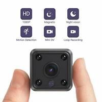 Mini Camera, HD 1080P Wifi Camera with 2 Way Audio and Video Recording, Home