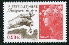STAMP / TIMBRE de FRANCE  N° 4534 ** FETE DU TIMBRE PROTEGEONS LA TERRE