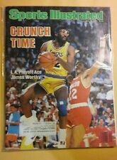 May 19, 1986 James Worthy Los Angeles L.A. Lakers Sports Illustrated