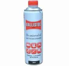 BONDALL BALLISTOL LUBRICANT 500ML OIL PROTECT LUBRICATE FIREARMS FISHING