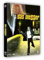 Una farfalla con le ali insanguinate Das Messer DVD Blu-ray mediabook audio ITA