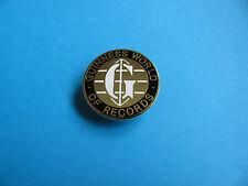 Guinness World Records badge. VGC. Unused. Enamel.
